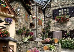 Baguergue, Province of Lleida, Spain The Places Youll Go, Places To See, Val D Aran, Malta, Spain And Portugal, Stone Houses, Cadiz, Travel Photos, The Good Place