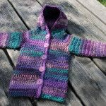 Ideas crochet sweater toddler free ravelry for 2019 Crochet Scarf Easy, Crochet For Beginners Blanket, Crochet Lace Edging, Crochet Jacket, Irish Crochet, Crochet Doll Tutorial, Crochet Patterns Free Women, Crochet Baby Booties, Crochet For Kids