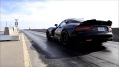 Deviate Motoring at Hennessey Performance for drag strip testing. Hellca...