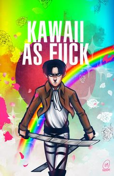 ((Levi is the most kawaii man ever. This picture is proof.))