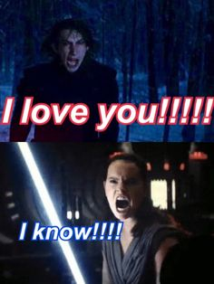 I honestly love Reylo although it might seem bit impossible xc ♡