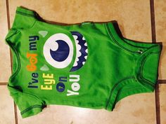 infant #baby #disney 3 months monsters inc. euc store land world mike bodysuit from $9.99