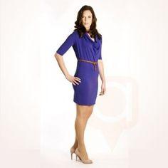 Deep Draped Tunic Dress #458 The StylingBrenda creates fashion that moves in…
