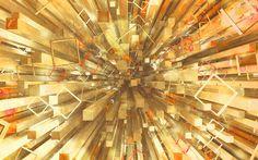 Dayli render: yellow blocks