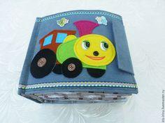 """Развивающая книжка """"Транспорт"""" - ручная работа, авторская игрушка, детская игрушка, развивающая книжка"""