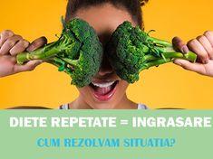 De ce dietele repetate duc la ingrasare? Si cum rezolvam situatia? Abdomen Plat, Metabolism, Broccoli, Herbs, Vegetables, Instagram, Food, Essen, Herb