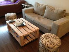 $500 Mesa Pallet Lila - Mesas - Muebles - 23680