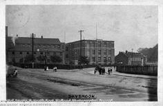 Daybrook Square looking towards Nottingham Road, Daybrook, Arnold Image Date:c 1910 Nottingham Road, Image Archive, Derbyshire, Historical Photos, Family History, Roads, Script, Nostalgia