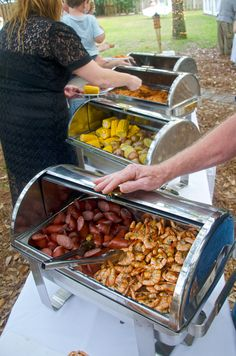More Popular As Beach Reception Food Than Downtown Go For The Flounder Its Local And Good