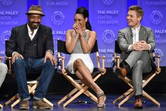 Photos from the Arrow and Flash spotlights at the 2015 PaleyFest Flash Barry Allen, Geoff Johns, Dc Comics Characters, The Cw, The Flash, Comic Character, Arrow, Writer