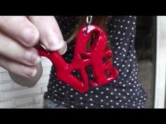 Collar love || Manualidades para San Valentin - YouTube