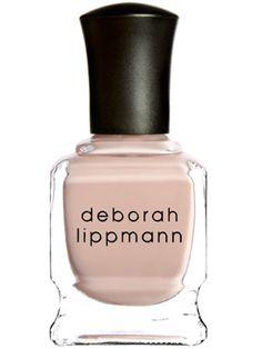 Naked by Deborah Lippmann: Sheer nude, clean and elegant. #Nail_Polish #Deborah_Lippman