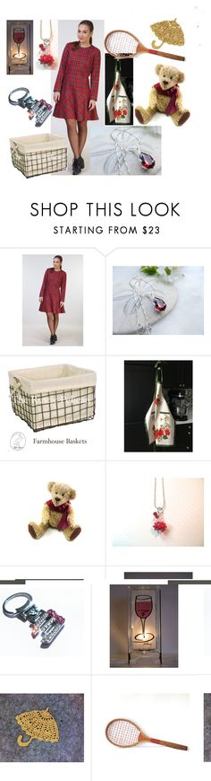 Tennis, Anyone? by inspiredbyten on Polyvore featuring Perlina, BMW and vintage