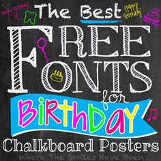 Lear about this custom first birthday chalkboard poster idea that was made with Photoshop Elements. Both black & white and colored versions, and it's SO easy to make and customize! Sign Fonts, Chalkboard Lettering, Chalkboard Designs, Chalkboard Drawings, Chalkboard Ideas, Hand Lettering, Chalkboard Template, Chalkboard Writing, Typography Fonts