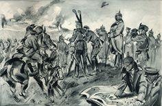 Hindenburg at the Battle of Tannenberg, 26-30 August 1914. [[MORE]] annoymind: https://en.wikipedia.org/wiki/Battle_of_Tannenberg