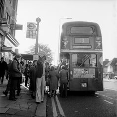 The No 13 bus near Golders Green: 1979, Henry Grant