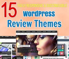 15 Top Quality WordPress Review Themes - Responsive and Multi-Purpose
