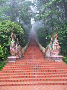 Wat Phra That Doi Suthep (mountain temple) - Chiang Mai, Thailand Thailand Adventure, Thailand Travel, Asia Travel, Laos, Vietnam, Bangkok, Places To Travel, Places To See, Places Around The World