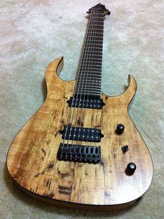 Aura 8 string guitar