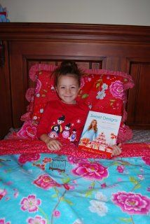Emma and her daughter Charlotte from Australia have joined the #SweetDesigns virtual book club. Adorable.
