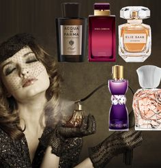 Des parfums encore plus intenses...