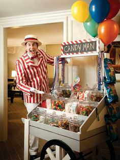 One call to the front desk at the Ritz-Carlton Chicago, and the hotel's resident Candy Man (clad in a red and white striped jacket and matching hat) makes his way to your room for you to stuff your face with treats—be they sweet, sour, gummy, or crunchy.