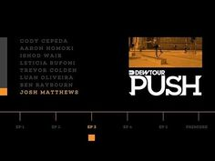 PUSH - Josh Matthews   Episode 3 - http://DAILYSKATETUBE.COM/push-josh-matthews-episode-3/ - There's a huge difference between going on a filming trip with a team and going on a filming trip by yourself. When you're with the homies, you've got the whole squad to hype you up. When you're solo, it's just you and the pressure of having to skate. No excuses. Josh Matthews and his filmer Marty - episode, josh, matthews, push