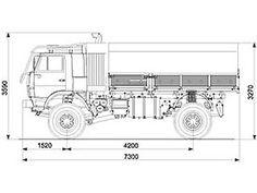 Автомобиль КАМАЗ 4911