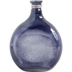 Mercana Caupona I Blue Glass Vase (Vases)