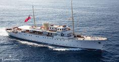 Shemara Yacht Charter | Vosper Thornycroft Luxury Motor Yacht