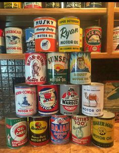 Rare Oil Cans Collection
