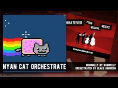 Nyan orchestrated!  I highly suggest going to dummeh's youtube channel. Mad talent.