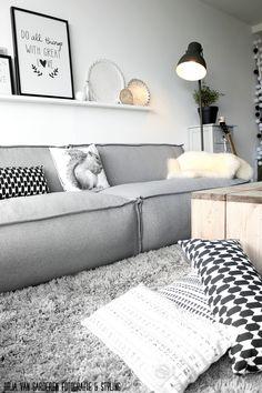 10 Scandinavian living rooms