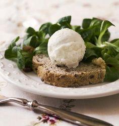Photo de la recette : Sorbet au fromage de chèvre et au miel (a modifier pour faire avec thermomix)