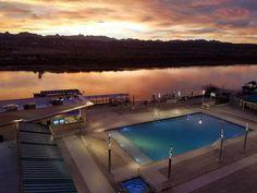 New Aquarius Casino Resort Pool Laughlin Nevada, River Walk, Restaurants, Community, Outdoor Decor, Blog, Restaurant, Blogging