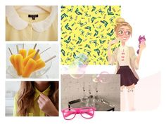"""Honey Lemon💛"" by gema-z ❤ liked on Polyvore featuring art"