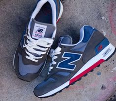 New Balance 1300ER-Grey-Blue-Red #sneakers #kicks