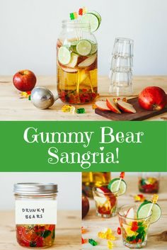 Check Out this Gummy Bear Sangria!