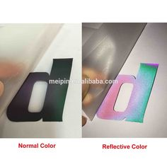 Check out this product on Alibaba.com App:reflect / reflective film logo labels for clothing/diamond grade reflective vinyl with garment https://m.alibaba.com/z6b6fy
