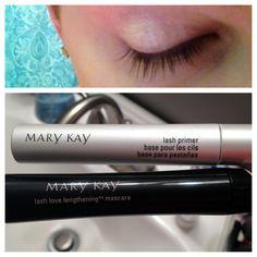 Mary Kay Lash Love Lengthening mascara & lash primer... Amazing! #MaryKay @influenstervox