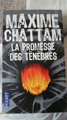 Maxime Chattam La promesse des ténèbres 📚❤