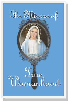 A detailed review of the wonderful book Mirror of True Womanhood on our blog! A must for every Catholic lady and mother out there! Makes a great wedding gift, mothers day or birthday gift :)