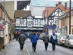 Entrance of Fratton Park - FC Portsmouth