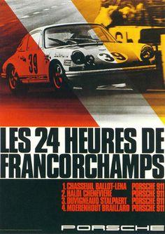 Les 24 Heures De Francorchamps -1969