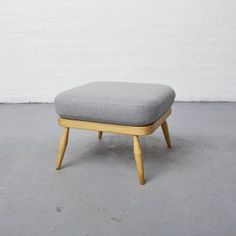 Ercol footstool revived