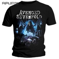 Official TShirt AVENGED SEVENFOLD Recurring Nightmare