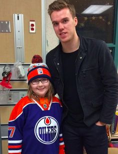Connor McDavid gives terminally ill Oilers fan 'best day ever' - Yahoo Sports Canada