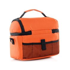 BAAKYEEK Sac glacière isotherme double couche 8 l orange