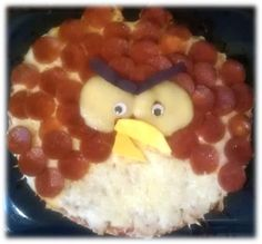 """Angry Bird Pizza Tutorial and a """"Kids Can"""" lesson"""