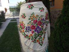 SALE 10% off Soviet Floral scarf Romanian от RussianshawlMayya